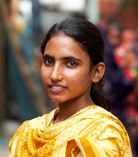 Plan sponsored girl in Bangladesh
