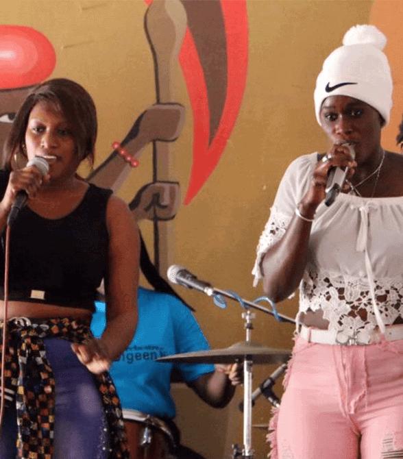 Plan Project Members Senegal Rapping