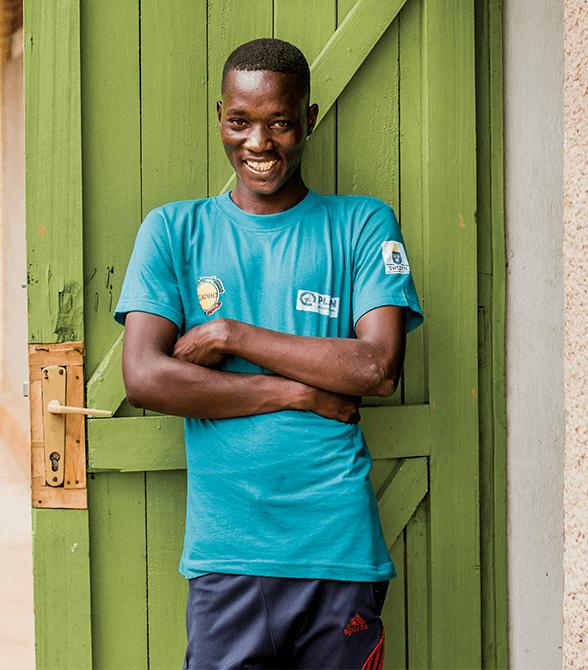 Plan Volunteer Rwanda Frederick