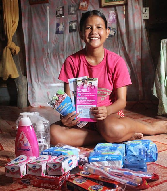 Sponsored Child In The Philippines Gelyn