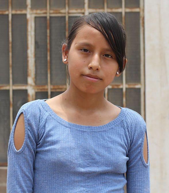 Sponsored Child In Peru Angela
