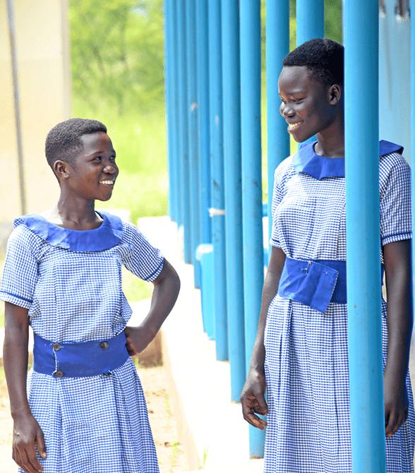 Girl In Uganda Education Program