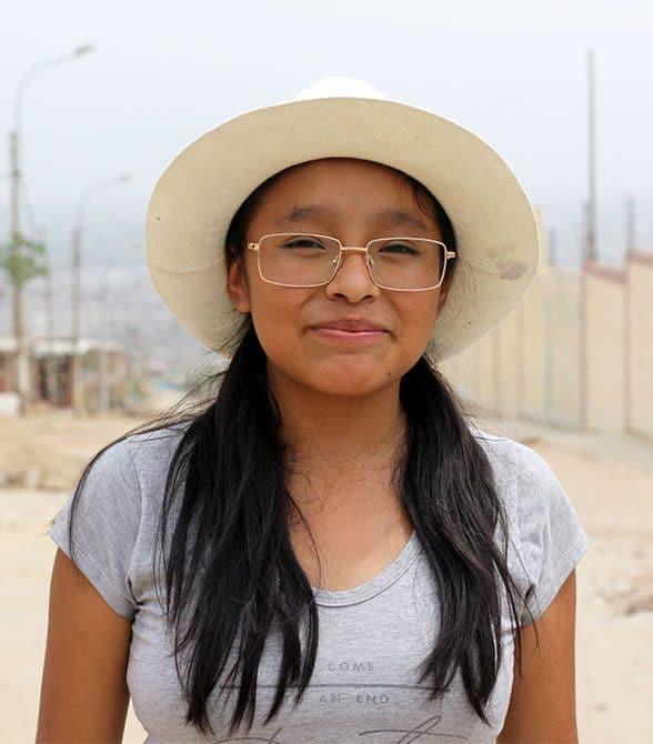 Sponsored Girl In Peru Edith