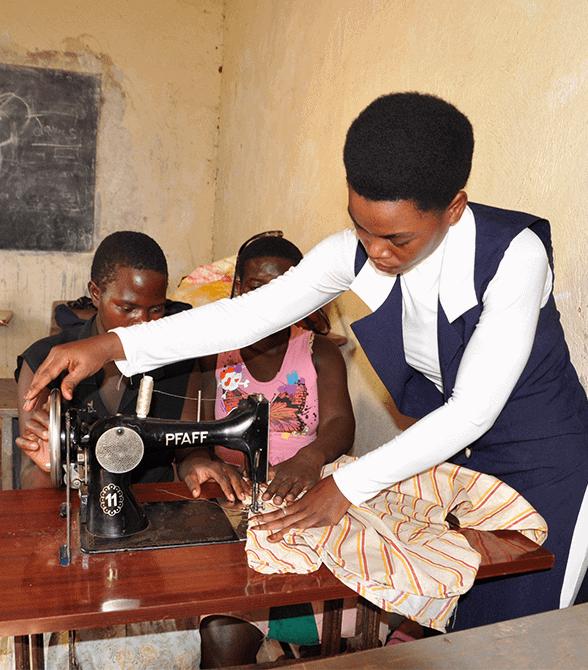 Uganda Girl in Youth Gender Equality Program Shamin
