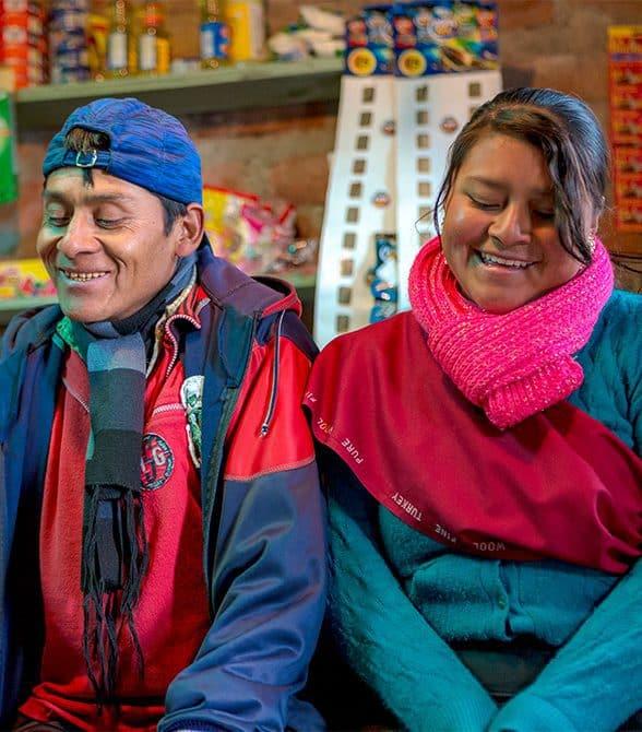 Plan volunteers in Ecuador