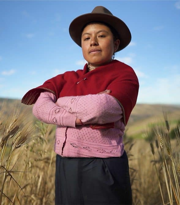Girl in Ecuador Standing Up For Gender Equality