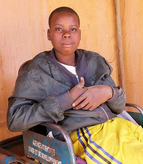 Sponsored Child In Burkina Faso