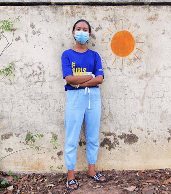 Sponsored Girl In Myanmar Ei Thandar