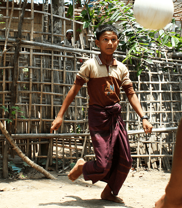 Sponsored Child In Myanmar Htay