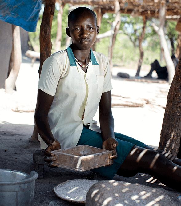 Sponsor Girl In South Sudan Mary