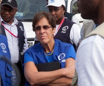 Tessie San Martin is the CEO of Plan International USA
