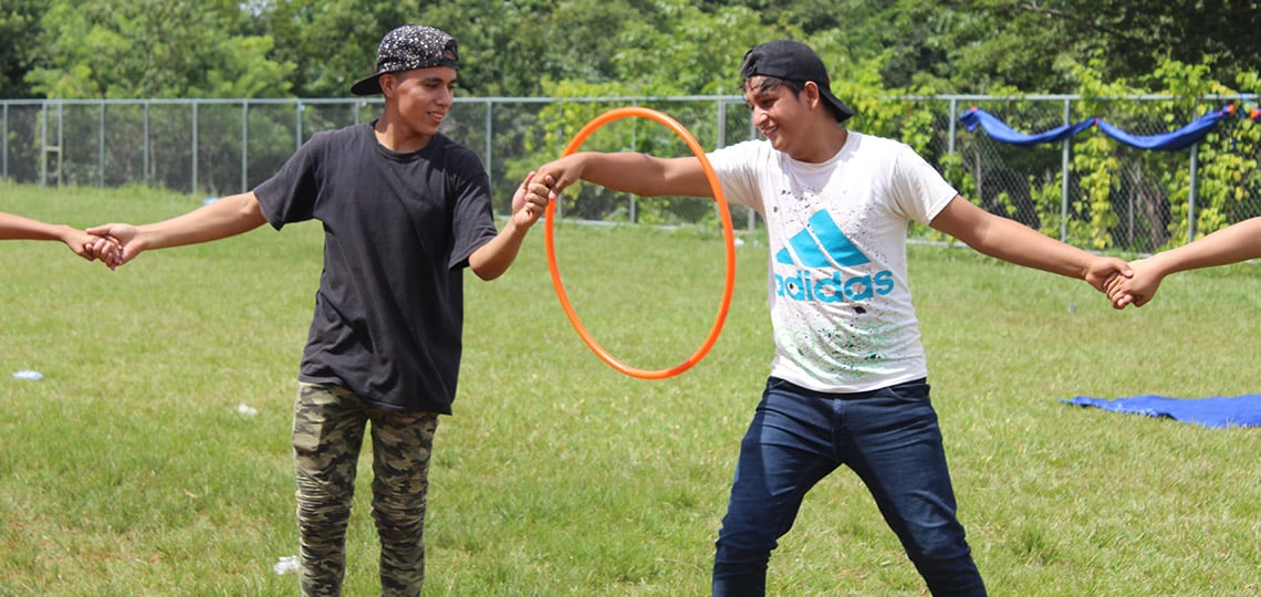 Because you supported projects like Champions of Change in El Salvador, young people like Bladimir went from hopelessness to confident change-makers.