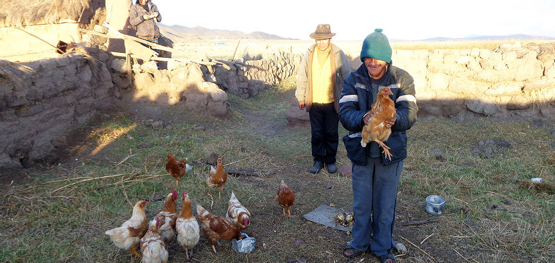 Thanks to you, Ronald got the help he needed to earn his own income by selling eggs.