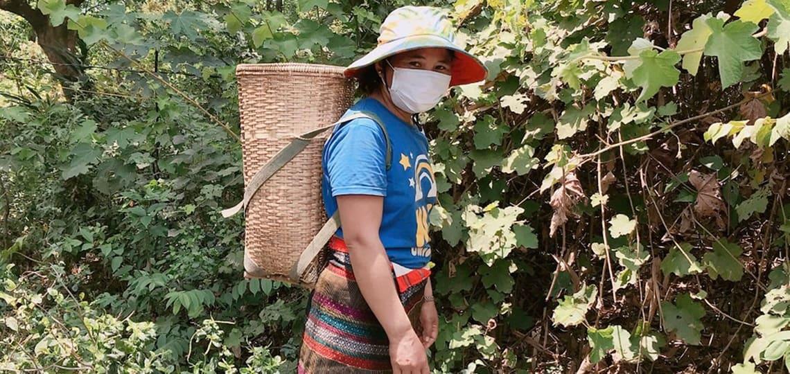 Women farmer in Vietnam