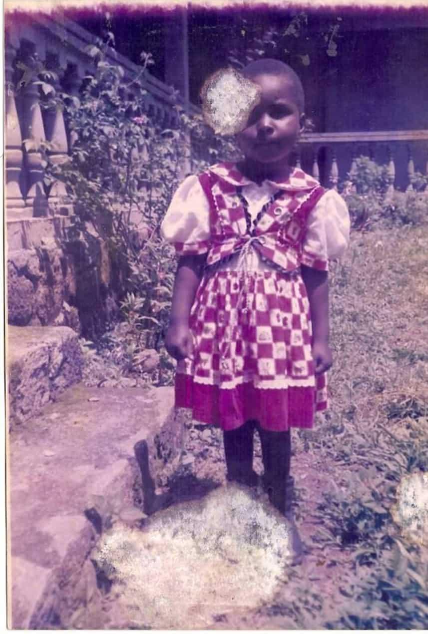 Photo of former sponsored child