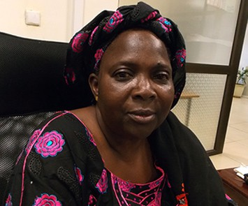 Madina Bocoum Daff is Plan Mali's Female Genital Project Manager.