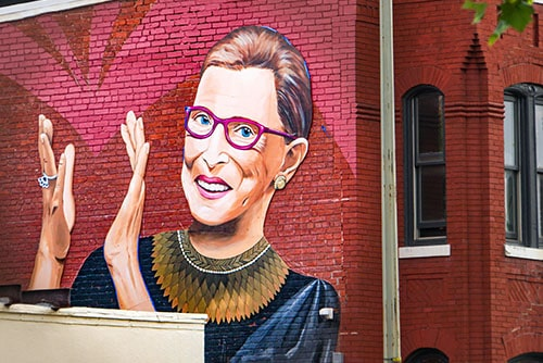 6 times RBG taught us how to fight for gender equality