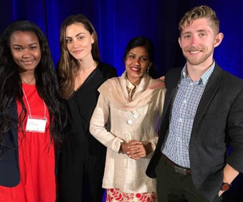 In June, Phoebe Tonkin was a special guest at FHI 360's Gender Summit.