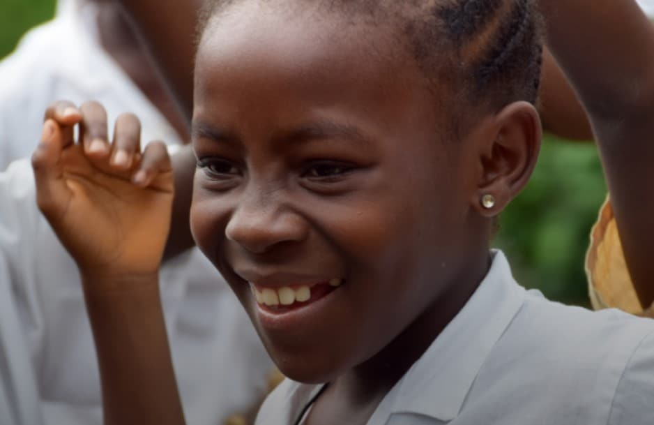 Keema is a sponsored child from Liberia