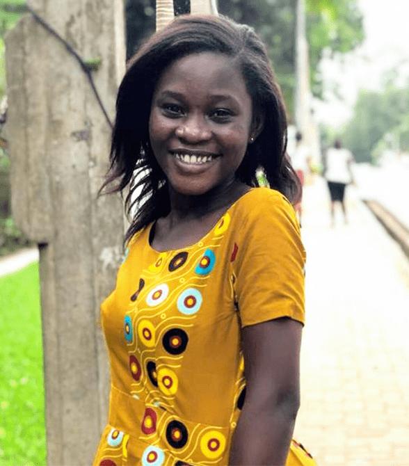 Former Sponsored Child In Ghana Deborah