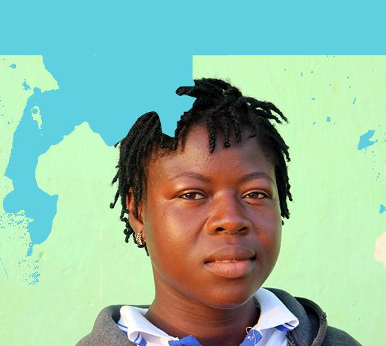 Sponsored Girl In Liberia