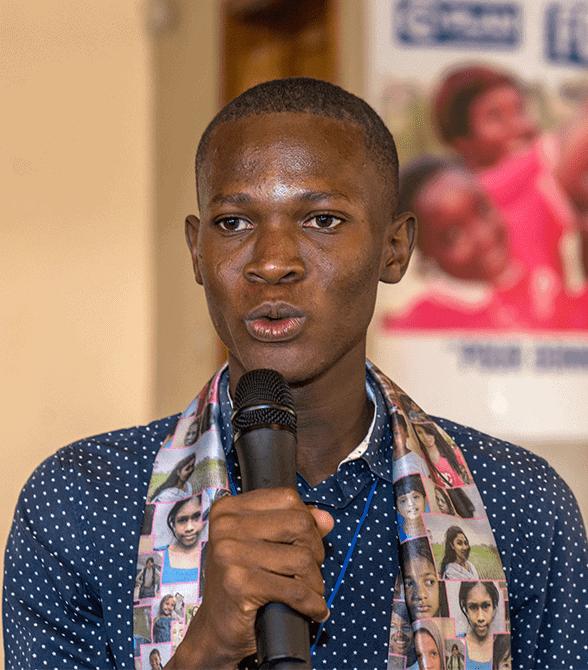 Guinea Man Speaking For Girls Rights