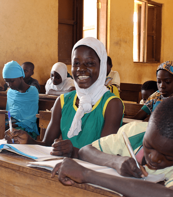 Sponsored Child In Ghana School Fasila