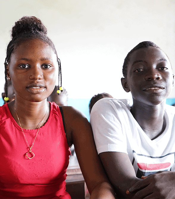 Sponsored Children In Guinea Bissau In School