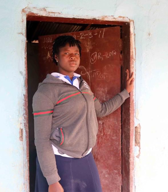 Sponsored Girl In Liberia School