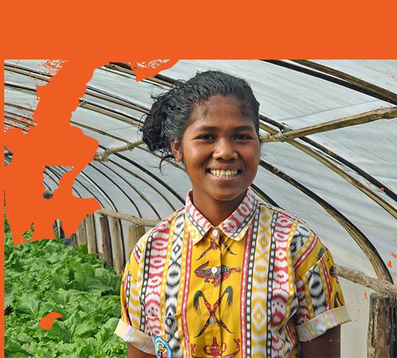 Sponsored Girl In Timor Leste