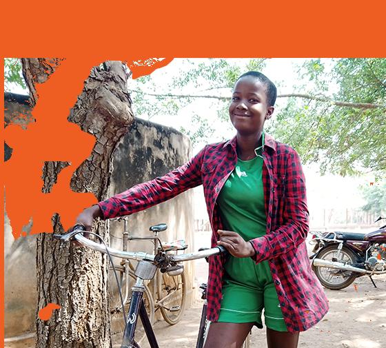 Sponsored Girl In Togo