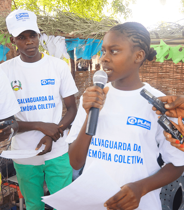 Youth Leader In Guinea Bissau
