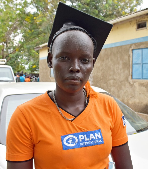 Ayen is a young woman in South Sudan