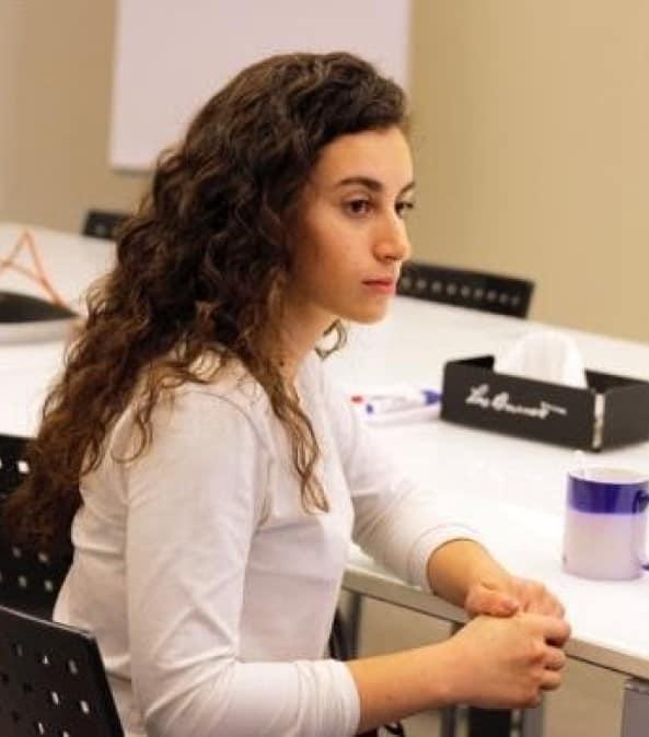 Rasha is from Lebanon