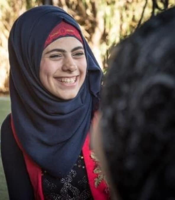 Samiha is from Syria but lives in Lebanon