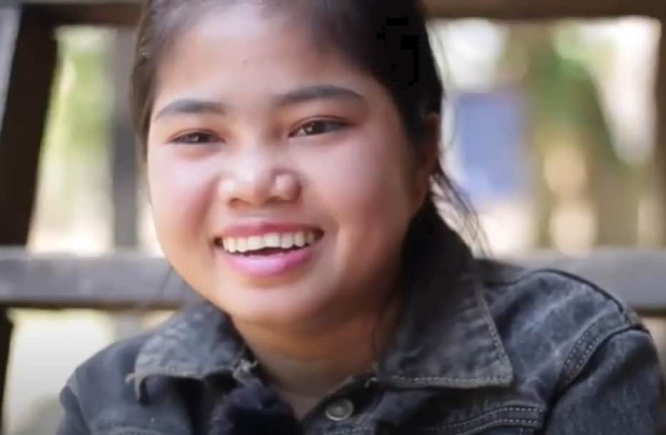 Pall is a girl living in Cambodia