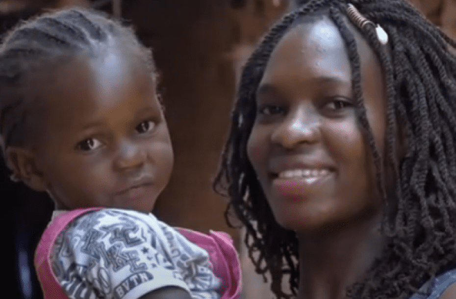 Belinda and her daughter
